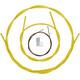 Shimano Dura-Ace BC-9000 - Cables de freno - recubierto de polímero amarillo